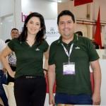 Rosangela Almeida e Fernando Lopes, do Bourbon Hotéis