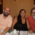 Sérgio e Janete Silveira, da Bibiano Turismo, e Paulo Amorelli, da Thunder Turismo