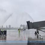 Voo inaugural Avianca em Vitória (ES)