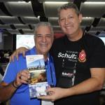 Silvio Luiz, da Seasons Travel, e Aroldo Schutz, da Schultz