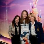 Solange Cappelari, da Sete Mares Turismo, Zdenka Conflant, da Disneyland Paris, e Marcia Archer Llana, da Solutions & Événements Tourisme & Vins