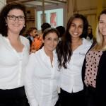 Thais Ramos, Viviane Penha, Marina Silva e Erica Scherer, do Porto Bay Hotels