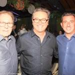 Valdir, Vinicius e Marcio Alves, secretário Municipal de Cultura e Esporte de Florianópolis