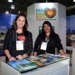 Vanessa Garmes e Gleyce Luz, da Empetur