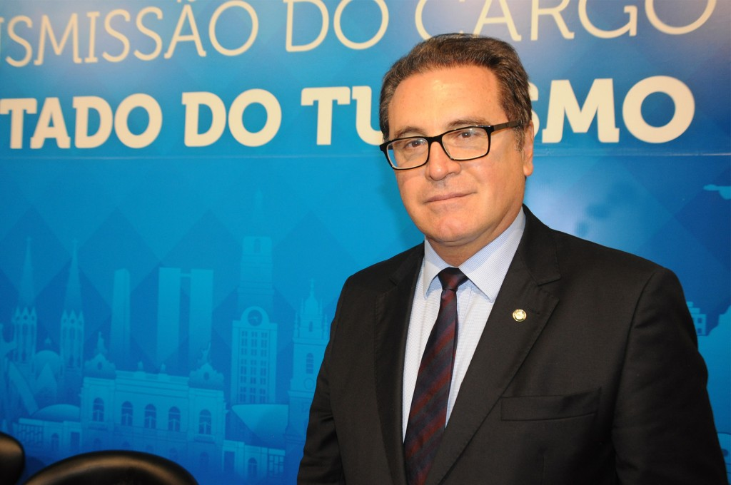 Vinicius Lummertz, ministro do Turismo