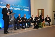 Novo ministro do Turismo, Lummertz agradece apoio e destaca potencial e desafios