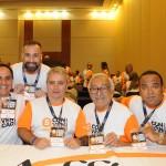 Wilson Ramos (SP), Alexandre Lança (RJ), Alexandre Brum (RJ), Mauro Amaral (BA) e Luiz Américo (RJ), da Affinity