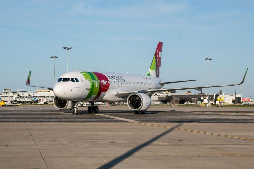 Aeronave chegou à Lisboa nesta quarta-feira (18)