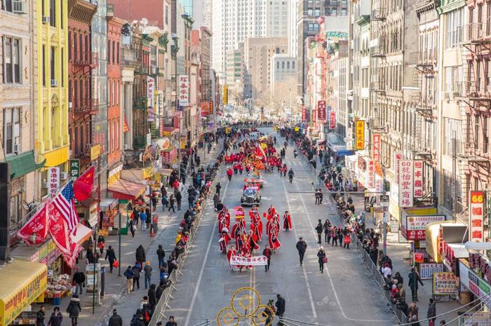 Lunar New Year Parade & Festival in Manhattan's Chinatown - Walter Wlodarczyk