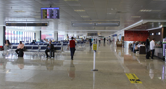Aeroporto de VG tem o melhor tempo de espera no check-in