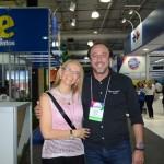 Alexandra Caprioli, diretora de Turismo de Campinas, e Fernardo Ciavollela, da Flytour Eventos
