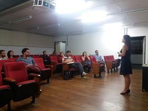 A Secretaria de Estado de Turismo de Minas Gerais (Setur-MG) ministrou uma aula sobre Políticas Públicas de Turismo, na UFMG, em BH.