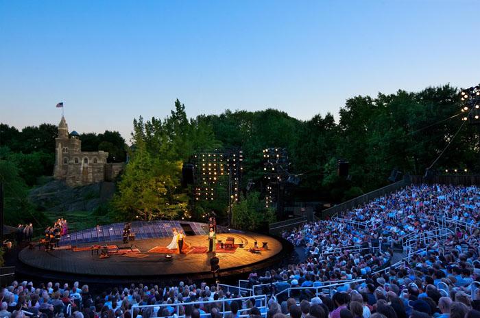 Shakespeare in the Park - Joseph Moran