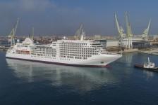Silversea conclui projeto de alongamento e reforma do Silver Spirit
