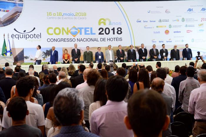 Abertura do Conotel 2018