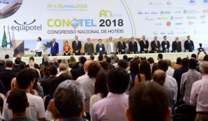 Veja fotos da abertura do Conotel 2018
