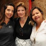 Adriana Machion, do Meliá, Roberta Batista, da Copa Airlines, e Eliane Carvalho, da Multidestinos