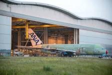 Montagem do Airbus A380 da ANA está concluída