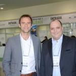 Alexandre Gehien, presidente do FOHB, e Alberto Cestrone, presidente da ABR