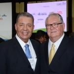 Alexandre Sampaio, da FBHA, e Roy Taylor, do M&E