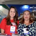 Ana Luiza Ferreira, da secretária de Turismo de Minas Gerais, e Ana Paula de Azevedo, da Belotur