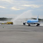 Batismo da aeronave da KLM