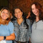 Bianca Fonseca, da Maiorca Turismo, Janaina Siqueira, da Take Tours, e Denise Dias, da LBM Viagens