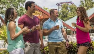 Bush Gardens oferece degustação de cerveja grátis