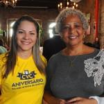 Carla Santos, da CVC, e Angela Oliveira, da Blumon Viagens
