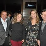 Cleiton Feijó e Alexandre Camargo, da Assist Card, com Ivone Gouvea e Jacqueline Conrado, da United Airlines