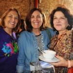Eliane Azevedo, da Privilege Turismo, Zenira Monteiro, da Zentours, e Vanuza Lott, da Best Friends