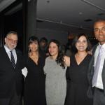 Enrique Martin-Ambrosio, Márcia Silva e Luiz Sobrinho, da Air Europa, com Julyane Oliveira e Fernanda Ferreira, da Almundo
