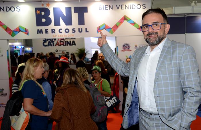 Geninho Goes, diretor da BNT Mercosul