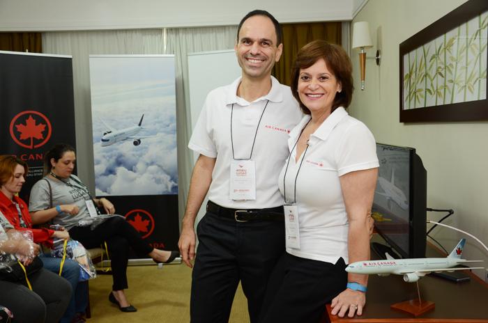 Hugo Silva Franco Sandra Passetto, da Air Canada
