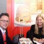 Jasmin Bischoff, do turismo de Frankfurt e Michael Meier do turismo da Alemanha