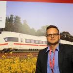 Joachim John, dos trens DB