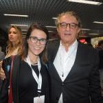Livia Rolim e Arialdo Pinho, da secretaria de Turismo do Ceará