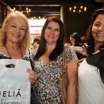 Luciane Proença, da MGF Turismo, Cristina Reis, da Nice Via Apia, e Rosana Bomfim,
