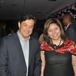 Luciano Barreto, da Almundo, e Diana Pomar, do Turismo do México