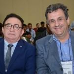 Manoel Linhares, presidente da ABIH Nacional, e Clayton Armelin, da CVC Corp