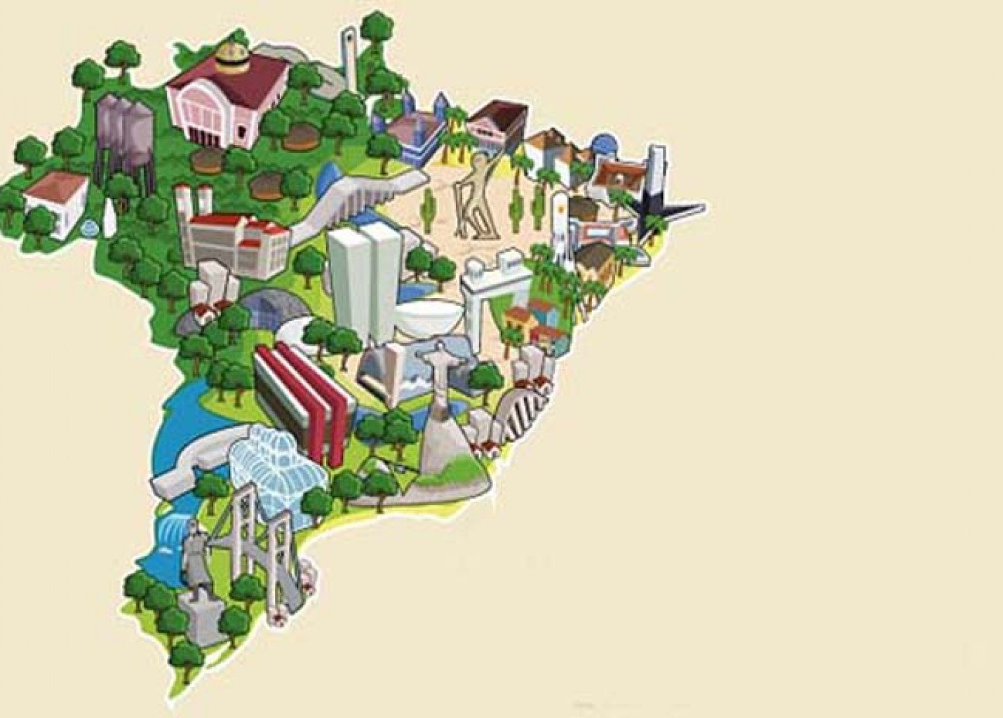 Novo Mapa do Turismo Brasileiro conta com 333 regiões turísticas; vídeo