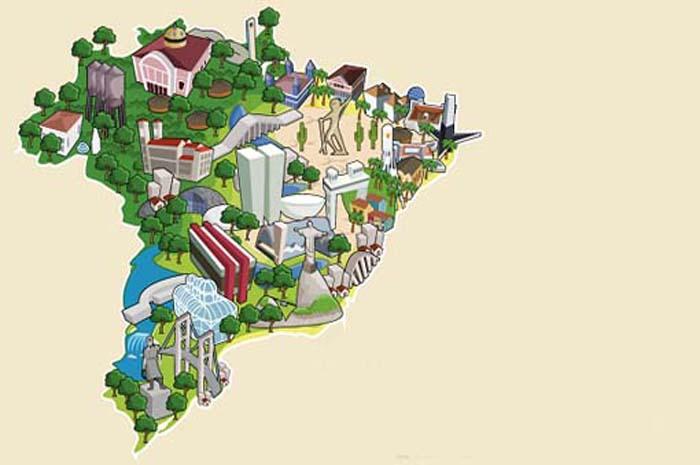 Mapa-turismo Mtur
