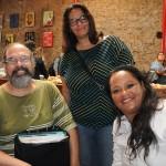 Marcelo Jones, da Palmitur Turismo, Sandra da Lucca, e Elizabeth Oliveira da Munhão Viagens