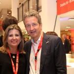 Margaret Grantham da DZT com Christian Tanzler, do turismo de Berlin
