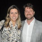 Nathália Lemeszenski, e João Faria, da Iberostar