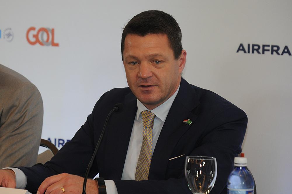 Pieter Elbers, CEO da KLM