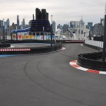 Pista de kart a bordo do Norwegian Bliss