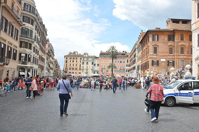 Praça da Espanha, em Roma