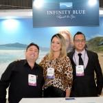 Wagner Zanca, Juliana Campeoto e Nata de Carvalho, do Infinity Blue