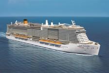 Costa revela data de viagem inaugural e mais detalhes do Costa Smeralda
